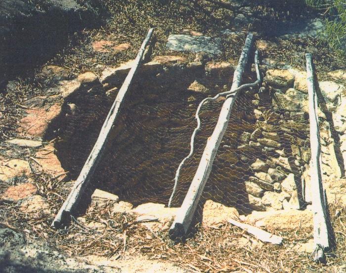 Moorine Well February 1991. Photo by WAWA.