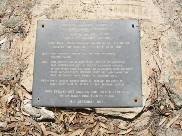 Second plaque at Tammin Well.