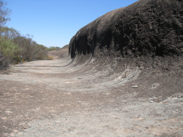 The wave at Totadgin Rock