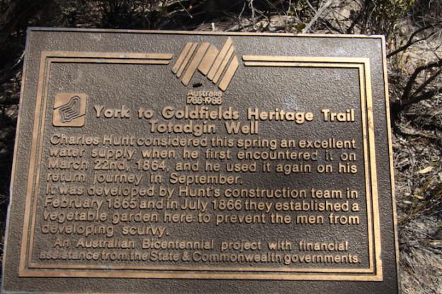 Bicentennial plaque.