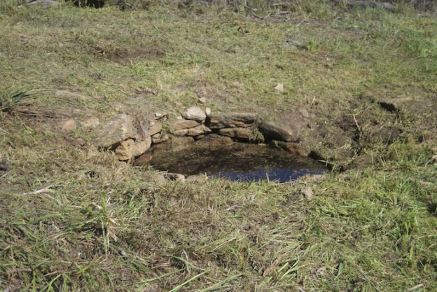 Burracoppin Well after clearing.