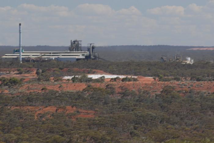 Nickel smelter at Kambalda.