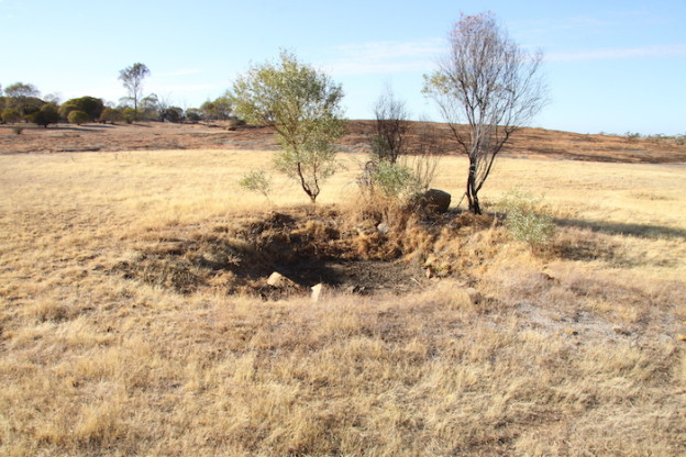 Second well at Weowanie. These wells were put in much later than Hunt's. They were more than likely developed by the PWD to provide water for prospectors and others travelling to the goldfields.