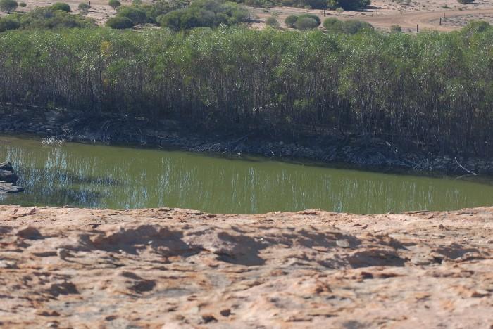 Reservoir at Burra Rock.